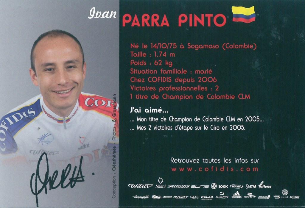 Parra Pinto Ivan - Cofidis, le crédit par téléphone 2006 (2)