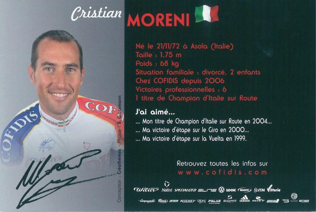 Moreni Cristian - Cofidis, le crédit par téléphone 2006 (2)