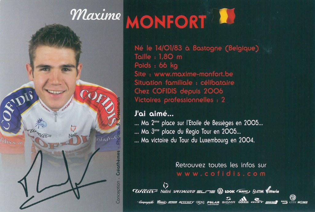 Monfort Maxime - Cofidis, le crédit par téléphone 2006 (2)