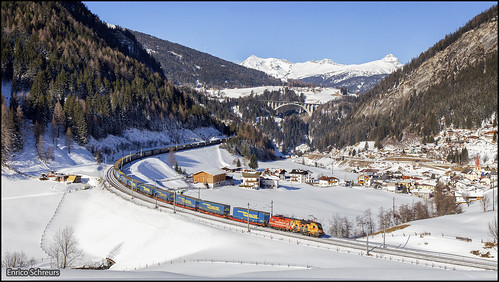 8 februari 2020 - ÖBB 1016 048 - St. Jodok am Brenner