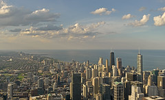 USA - Illinois - Chicago - view from Willis Tower