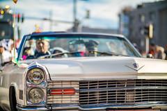 Cadillac Deville bei einem Faschingsumzug