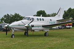 Beechcraft E90 KingAir 'F-GJCR'