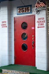 Red Lounge Door