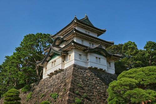 Tour de garde Fujimi-yagura du Palais Impérial de Tokyo