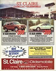 St. Claire Cadillac-Oldsmobile, Santa Clara CA, 1997