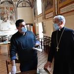 2020-04-11 - Visita Arcivescovo Centro Caritas Covid-19