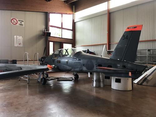 34, Aerospatiale TB-30 Epsilon, Aerocampus Aquitaine, French (34), Latresne 18th May 2019