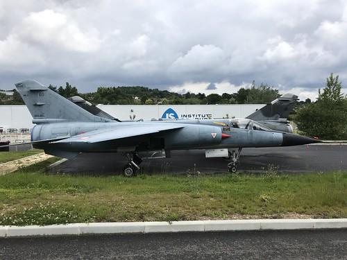 (01)/E0, Dassault Mirage F.1E, Aerocampus Aquitaine, French (01), Latresne 18th May 2019