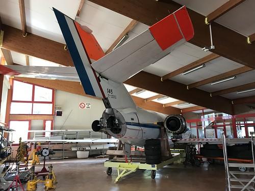 145/CU, Dassault Falcon 20C, Aerocampus Aquitaine, French (145), Latresne 18th May 2019