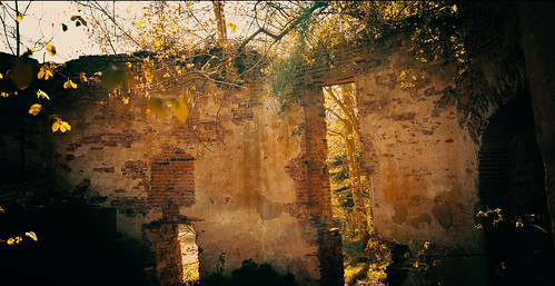 Ruin in nature Voorst Netherlands
