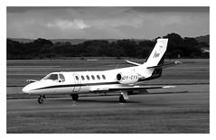 Aalborg Air Cessna 550 Citation II OY-CYV