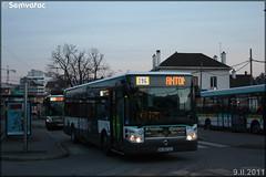 Irisbus Citélis Line – RATP (Régie Autonome des Transports Parisiens) / STIF (Syndicat des Transports d'Île-de-France) n°3842