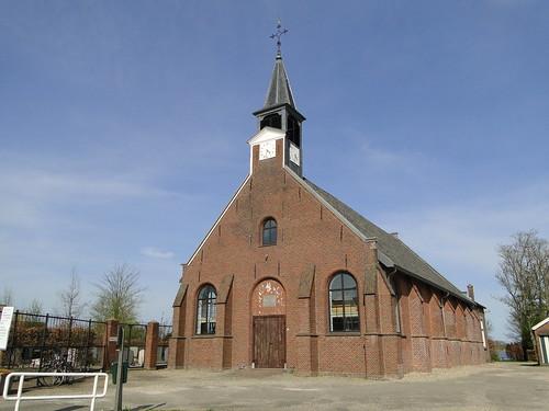 Church in Tienhoven village