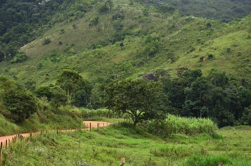 Estrada de Rosário de Minas