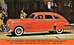 1941 Oldsmobile Dynamic Cruiser Four-Door Sedan
