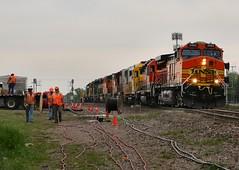 Hospital Train thru Saginaw, TX