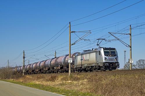 Muessen Str HHhs - Angermünde Rheincargo 187 079-9 Kessel