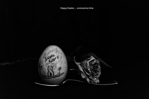 HAPPY EASTER - CORONAVIRUS
