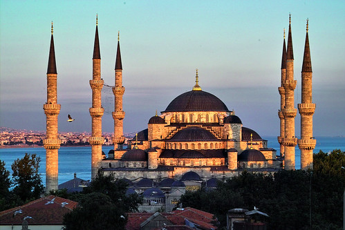 Istanbul The wonderful blue mosque