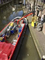 Bevoorrading Gauchos - Oude Gracht aan de Werf Utrecht
