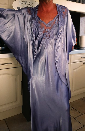 Blue nightdress