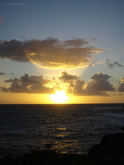 Sunrise from the La'ie Point State Wayside