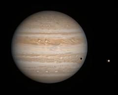 Jupiter & Io - December 7 2000
