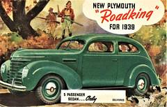 1939 Plymouth Roadking Two-Door Sedan