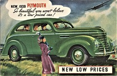 1939 Plymouth De Luxe Two-Door Touring Sedan