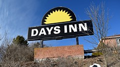 Abandoned Days Inn, March 1, 2020