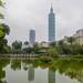 Taipei 101 and Zhongsan Park