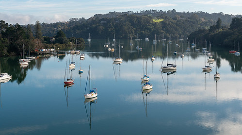 Upper Waitemata Harbour, Auckland, New Zealand