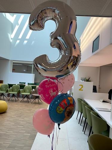 Ballonboeket Get Well 3 Jaar Beterschap Ikazia Ziekenhuis Rotterdam