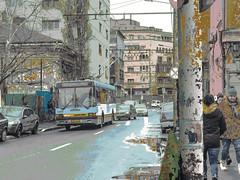 Trolleybus Bucharest February 2018