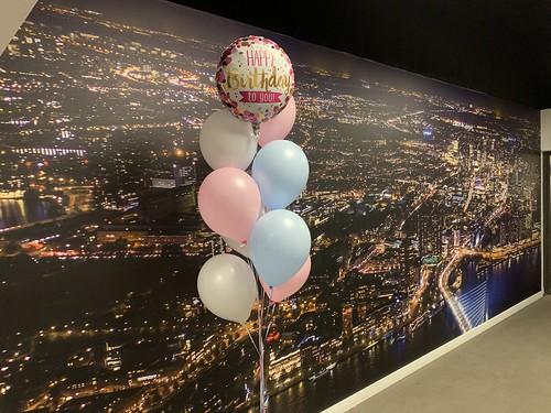 Ballonboeket Happy Birthday Lee Towers Rotterdam