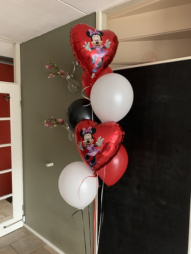 Ballonboeket Minnie Mouse