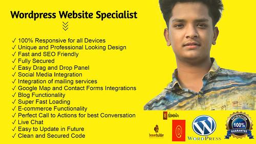 create wordpress website