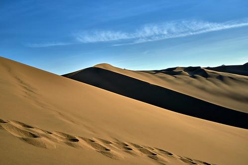 Sand Dunes from Huachachina - Peru
