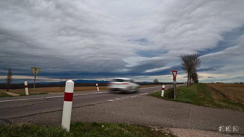 Une voiture fantome dans un paysage improbable, mais pourtant bien réels !