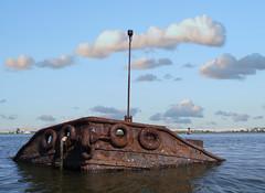 Rusted Tug at the Ship Graveyard