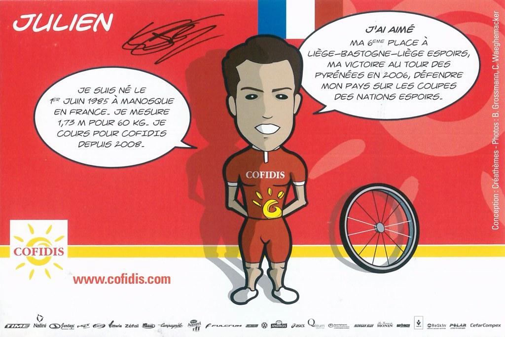 El Fares Julien - Cofidis, le crédit par téléphone 2008 retro