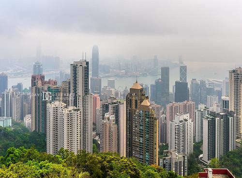 Victoria Peak's Lions Pavilion, Hong Kong
