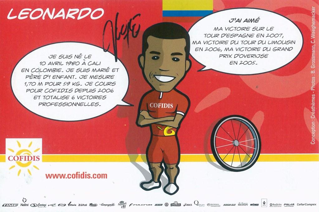 Duque Leonardo - Cofidis, le crédit par téléphone 2008 retro