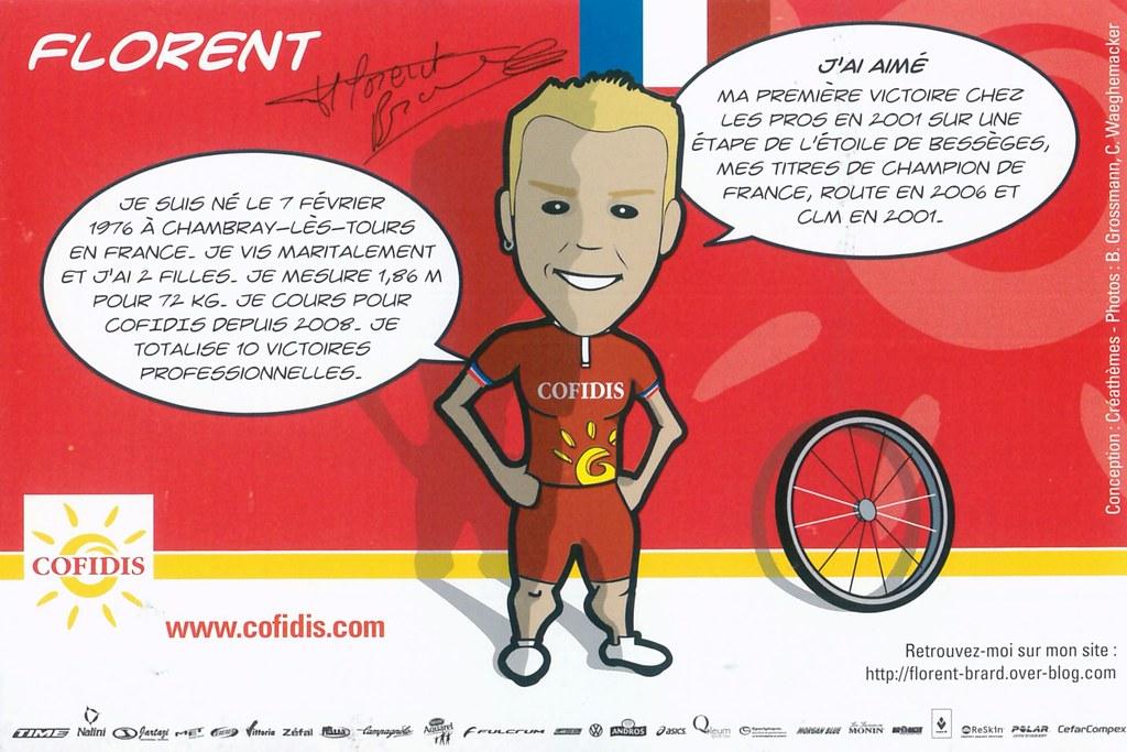 Brard Florent - Cofidis, le crédit par téléphone 2008 retro