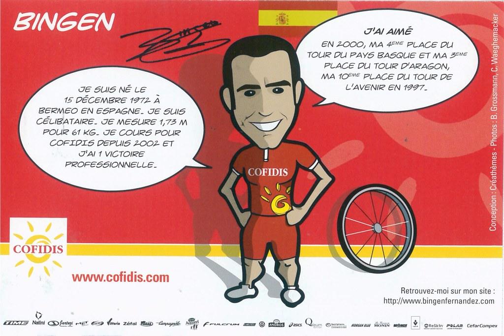 Fernandez Bingen - Cofidis, le crédit par téléphone 2008 retro