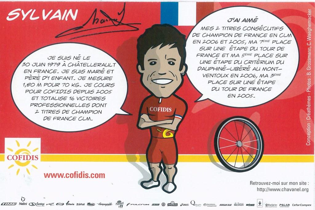 Chavanel Sylvain - Cofidis, le crédit par téléphone 2008 retro