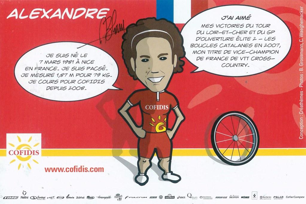 Blain Alexandre - Cofidis, le crédit par téléphone 2008 retro