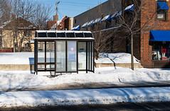 Metro Transit Bus Stop Shelter - St. Paul