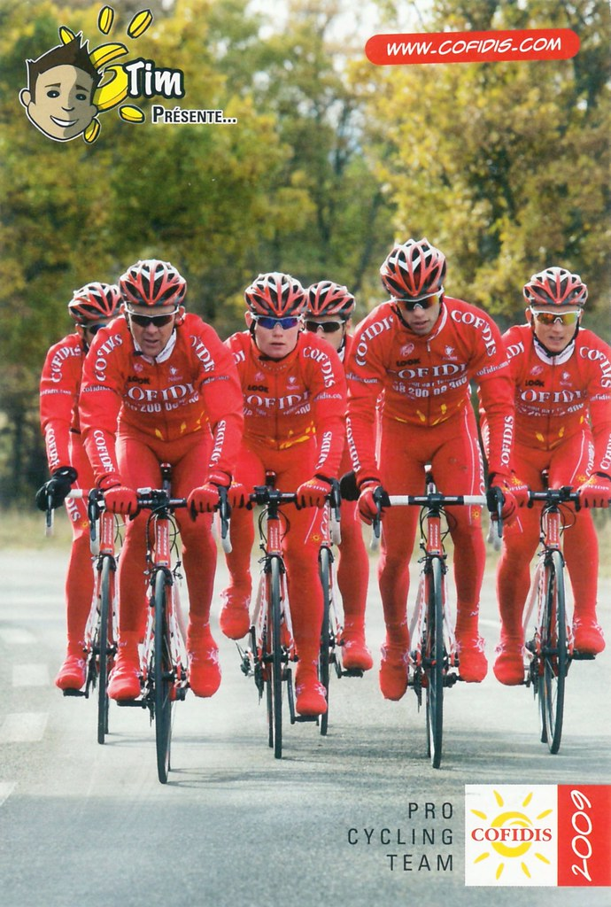 Cofidis, Le Credit en Ligne 2009 - Pro Cycling Team